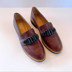 Franco Sarto Burgundy Flat Loafers US9M